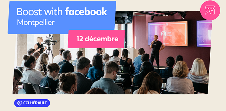 Ateliers Boost with Facebook
