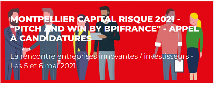 Montpellier Capital Risques 2021 - Pitch and win by Bbpifrance