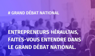 Entrepreneurs héraultais, le Grand Débat National